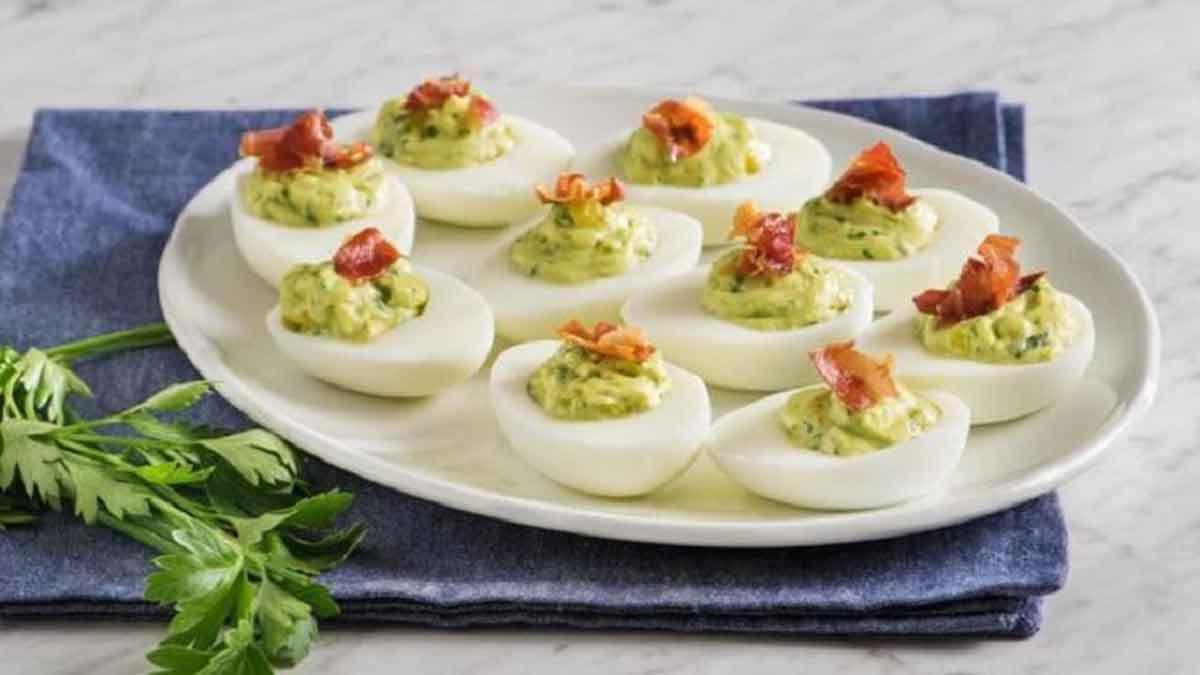 œufs farcis