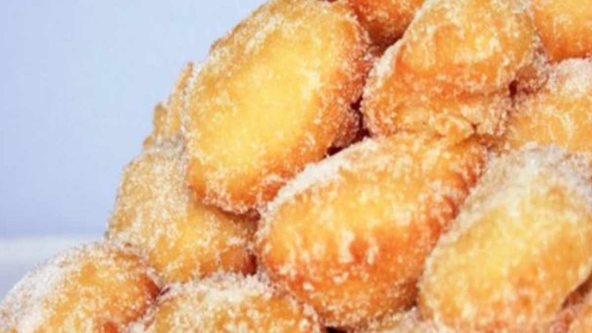 Doux beignets au sucre express