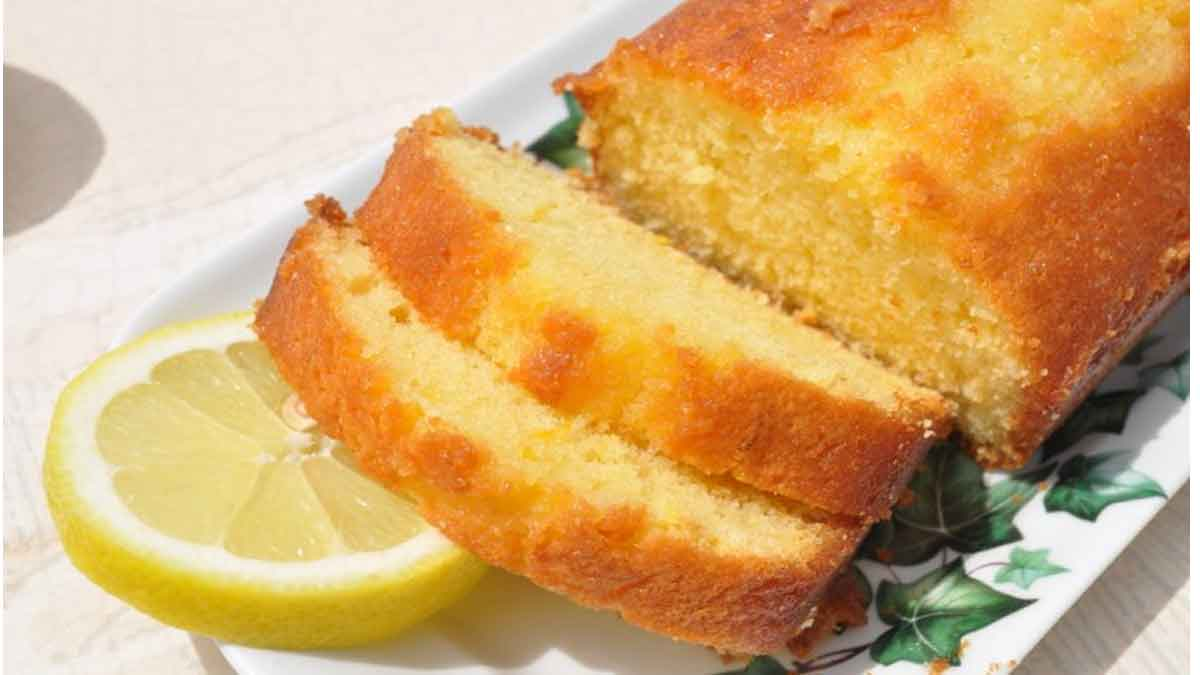 Doux cake au citron