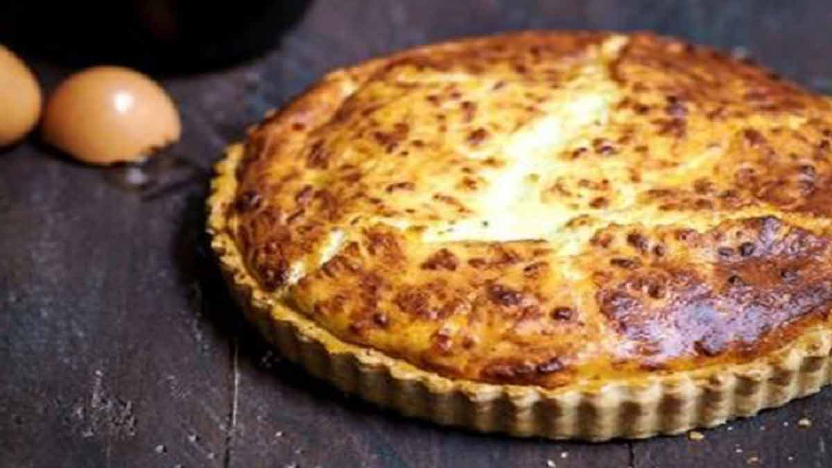 Merveilleuse quiche soufflée au fromage
