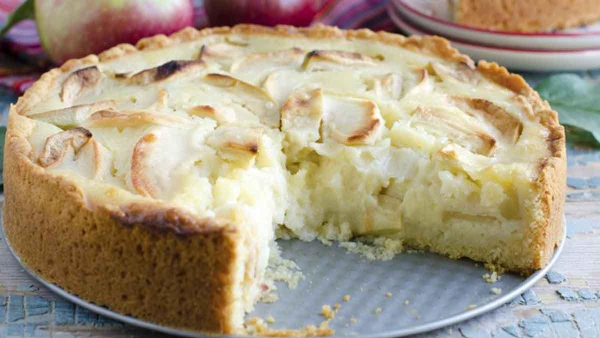 Merveilleux gâteau aux pommes facile
