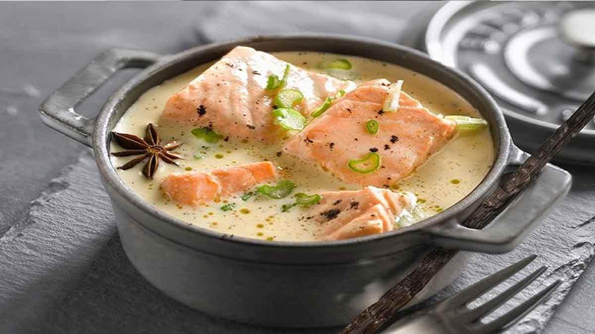 Savoureuse blanquette de saumon