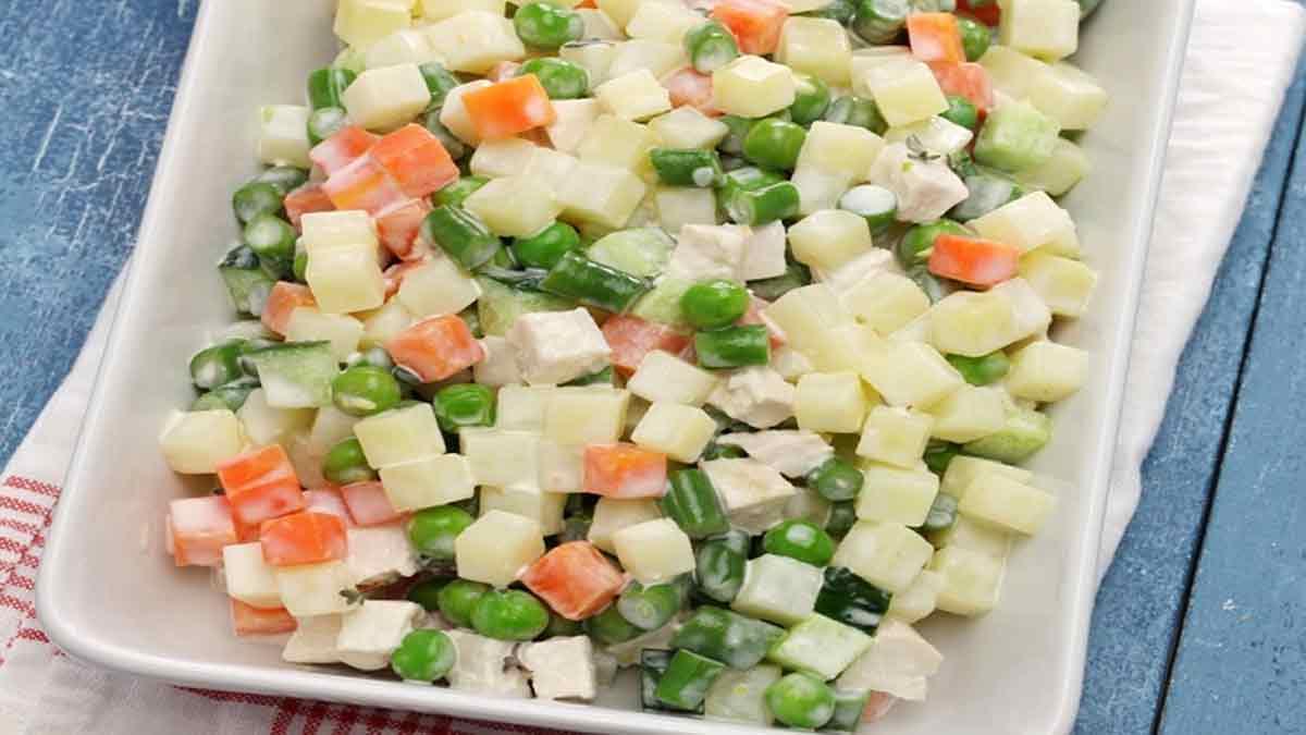 Savoureuse macédoine de légumes