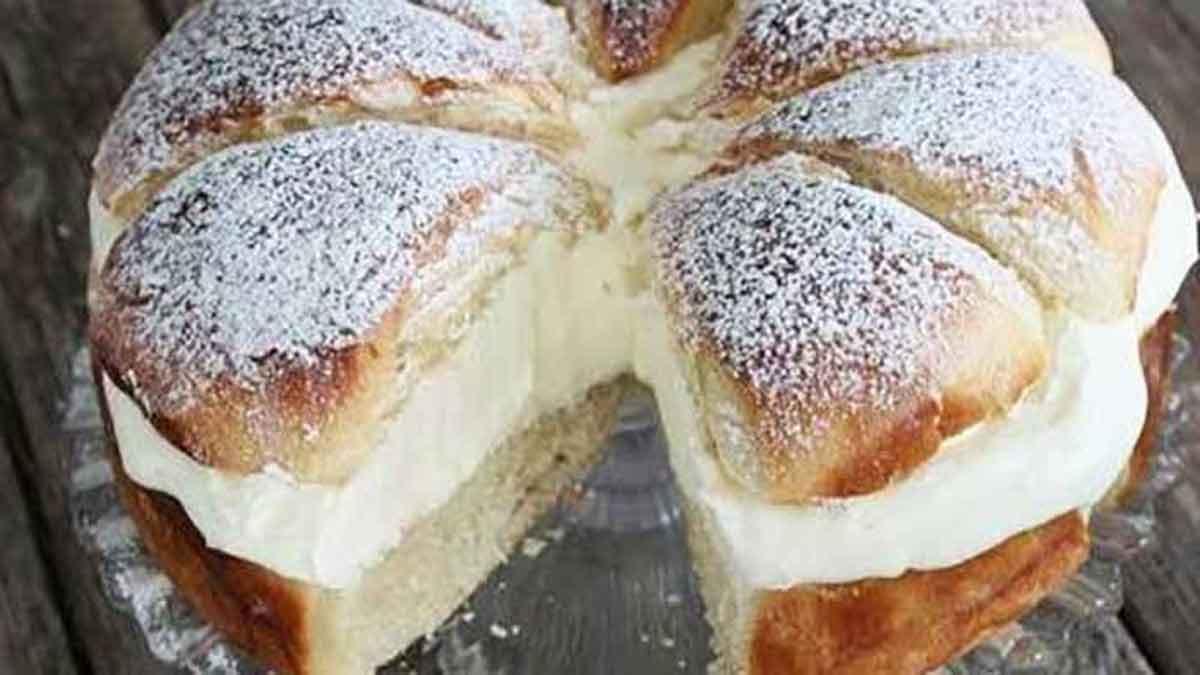 Savoureuse tarte tropézienne