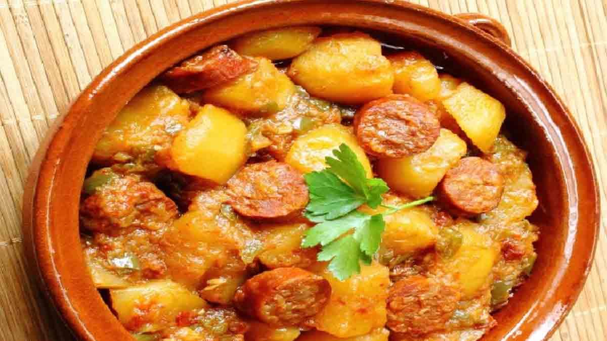 Savoureux chorizo aux pommes de terre