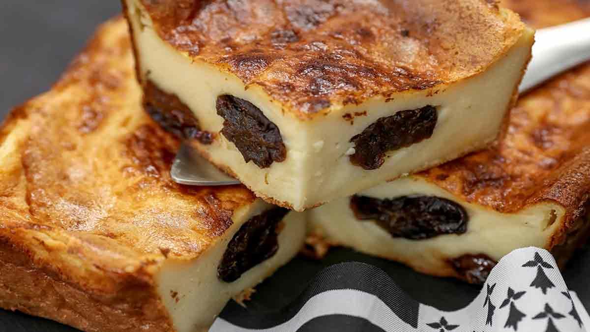 Savoureux far breton traditionnel