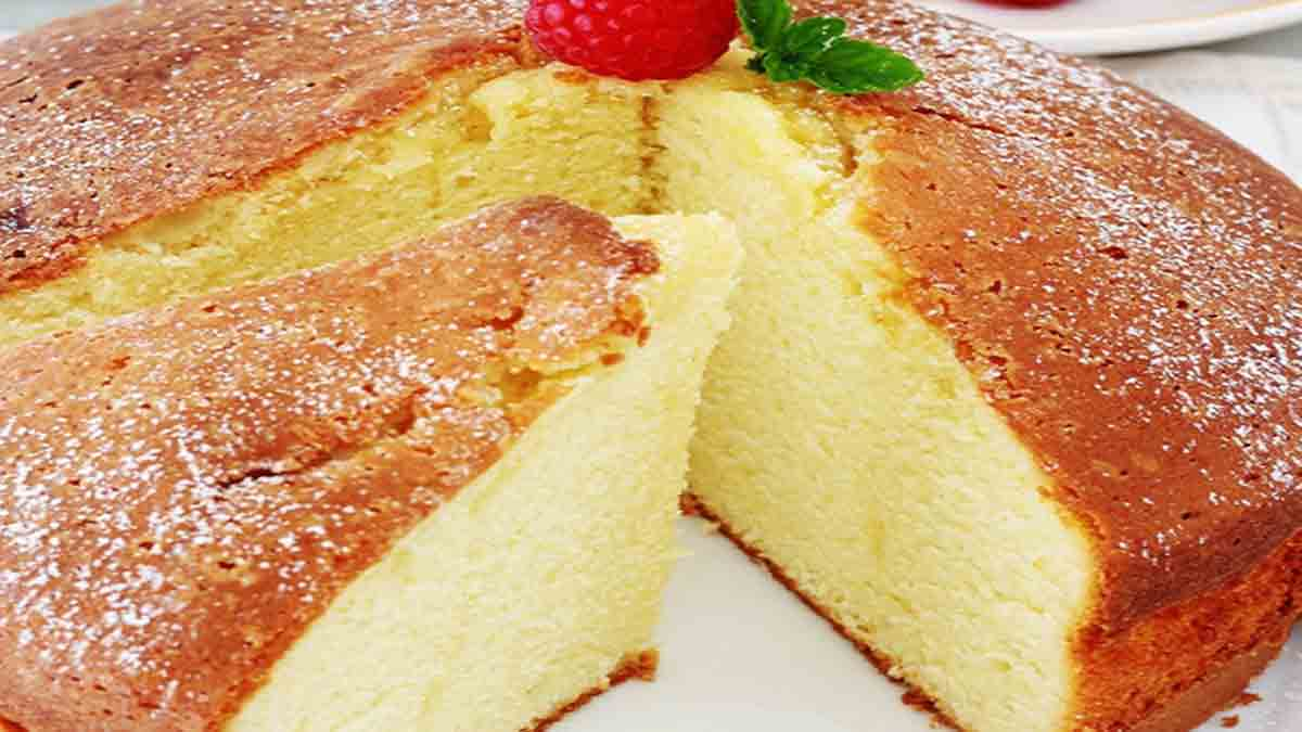 Savoureux gâteau au yaourt très moelleux