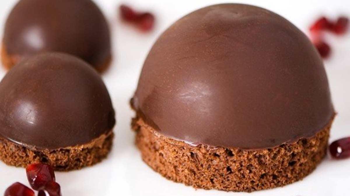 Splendide dôme mousse au chocolat