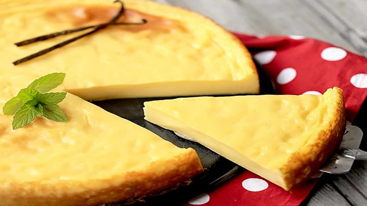 Succulent flan pâtissier sans pâte