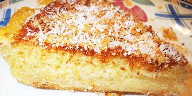 Succulente tarte à la noix de coco