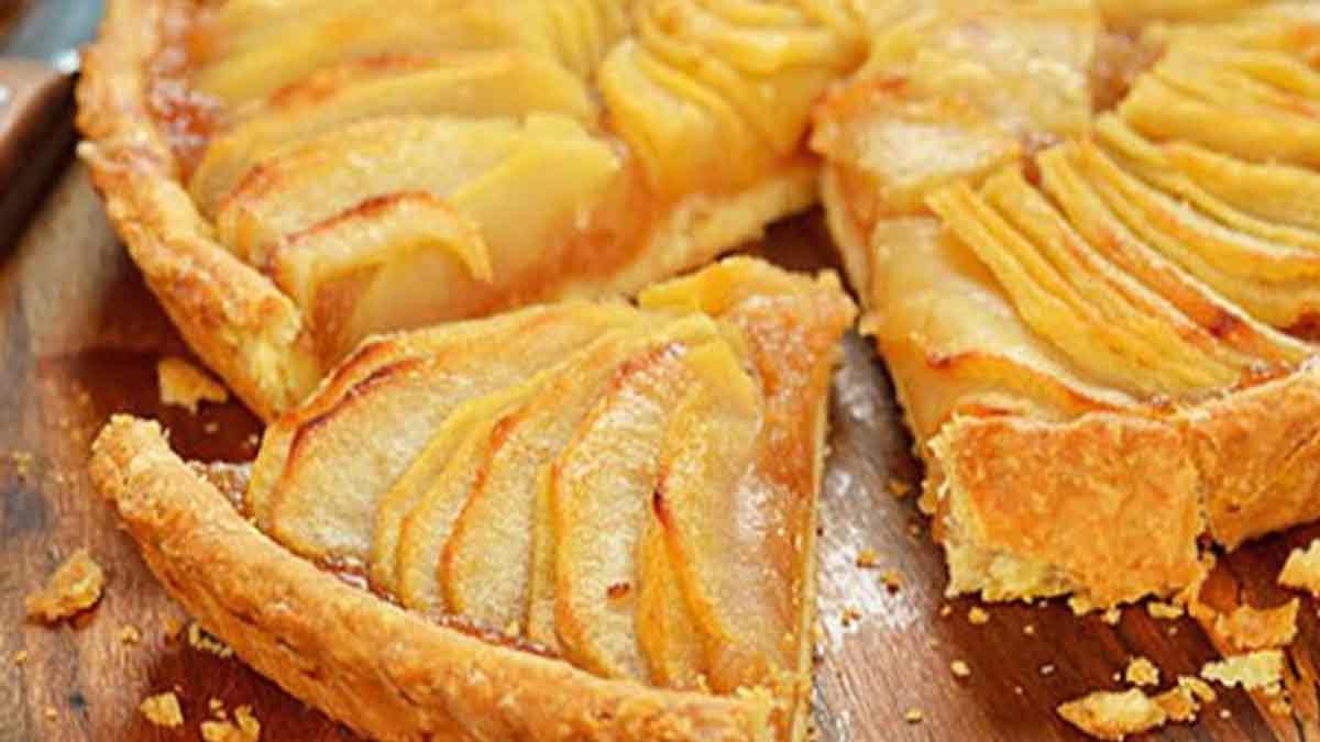 Succulente tarte aux pommes de grand-mère
