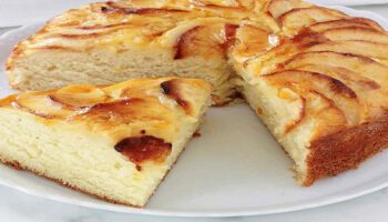 Super gâteau au yaourt et aux pommes