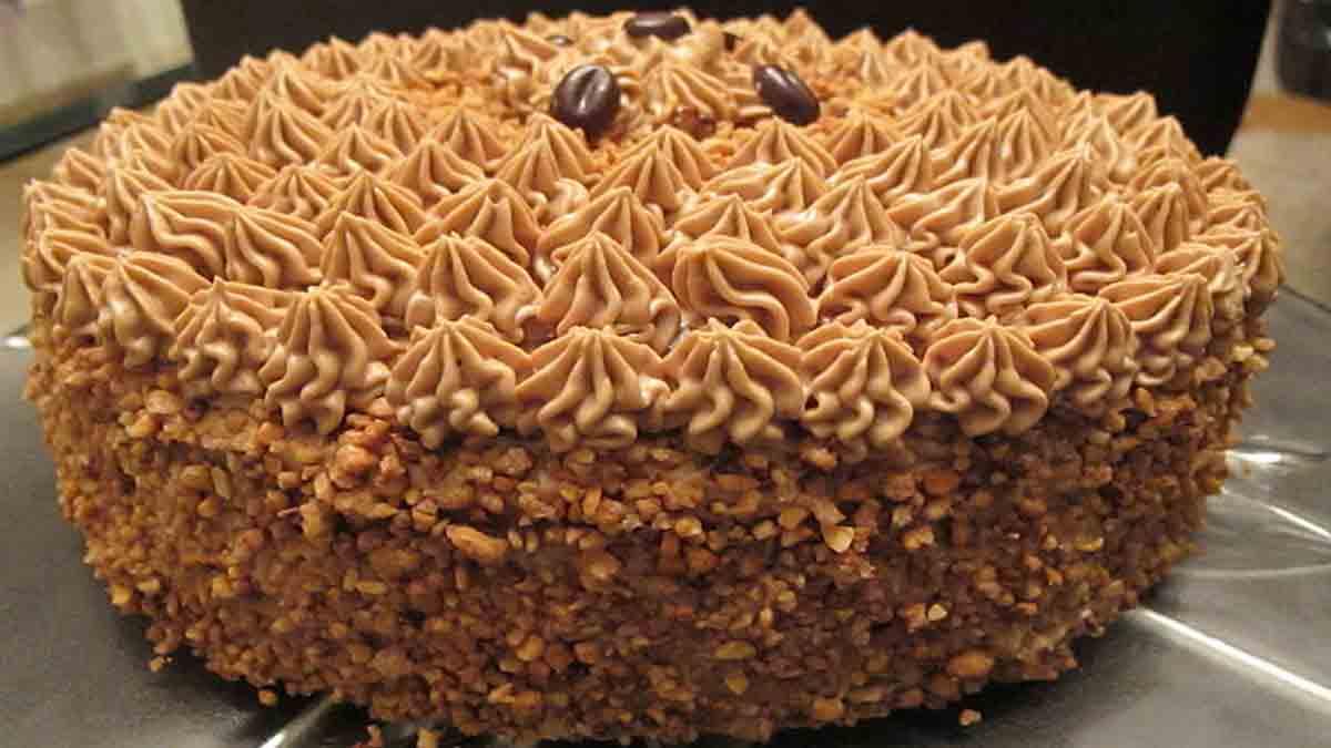 Splendide gâteau moka