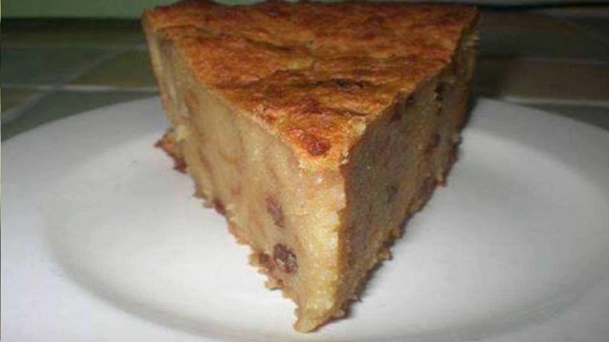 Doux pudding sans sucre ni lait