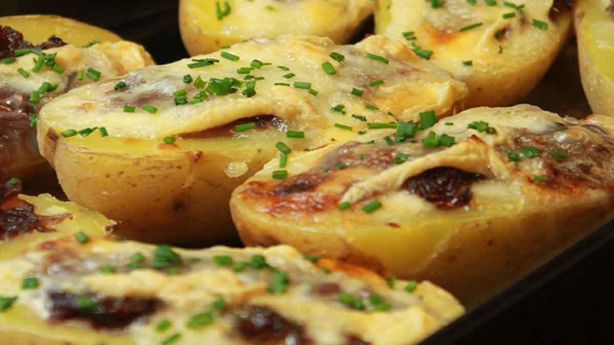 pommes de terre gratinées oignons munster