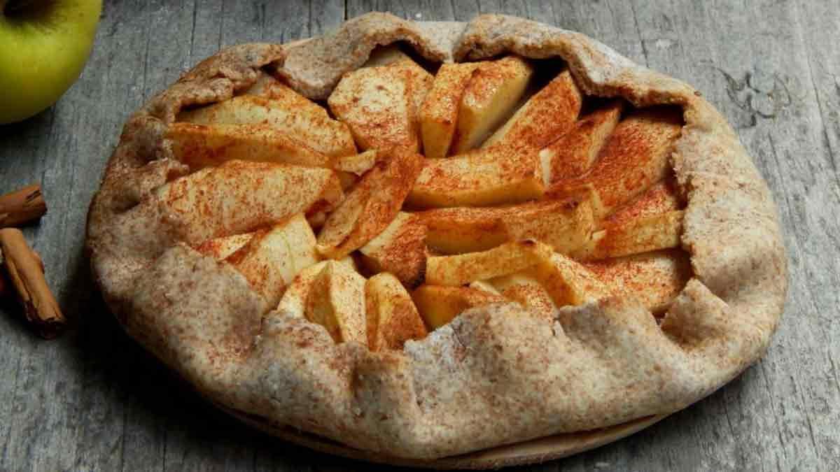 Alléchante tarte aux pommes