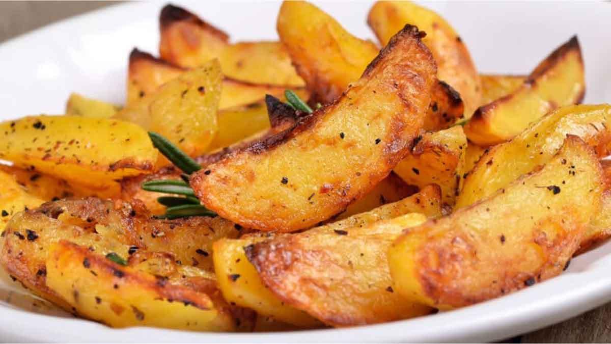 Croustillantes pommes de terre aux herbes aromatiques