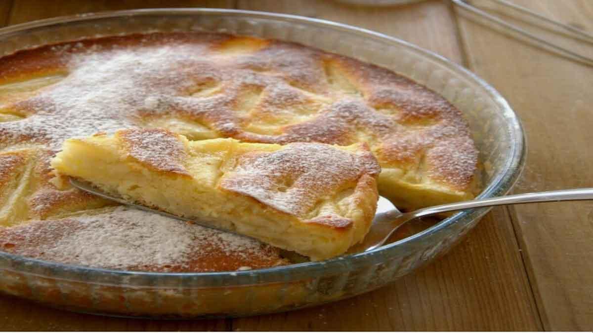 tarte aux poires moelleuse