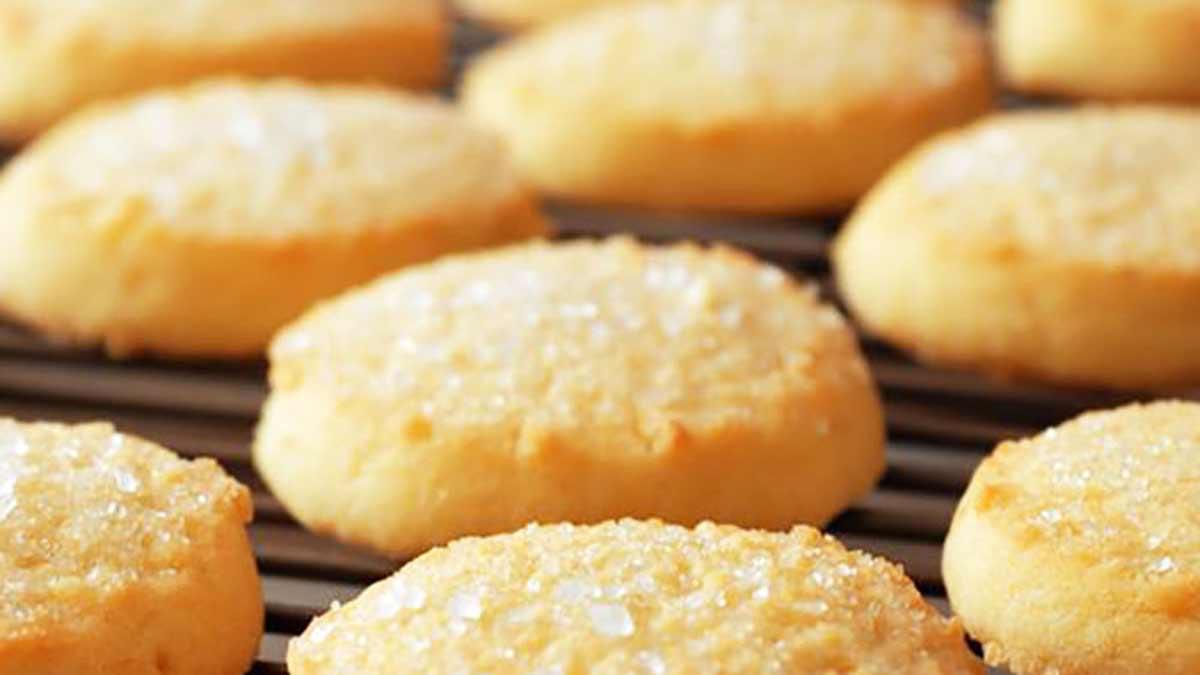 Savoureux biscuits sablés nature