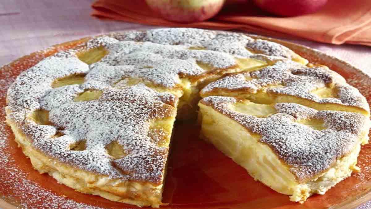 Savoureux gâteaux de flan aux pommes