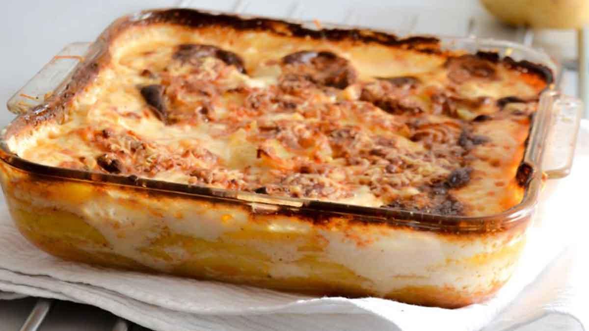 Savoureux gratin de pommes de terre à la crème