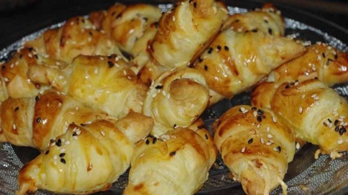 Sublimes croissants au crabe