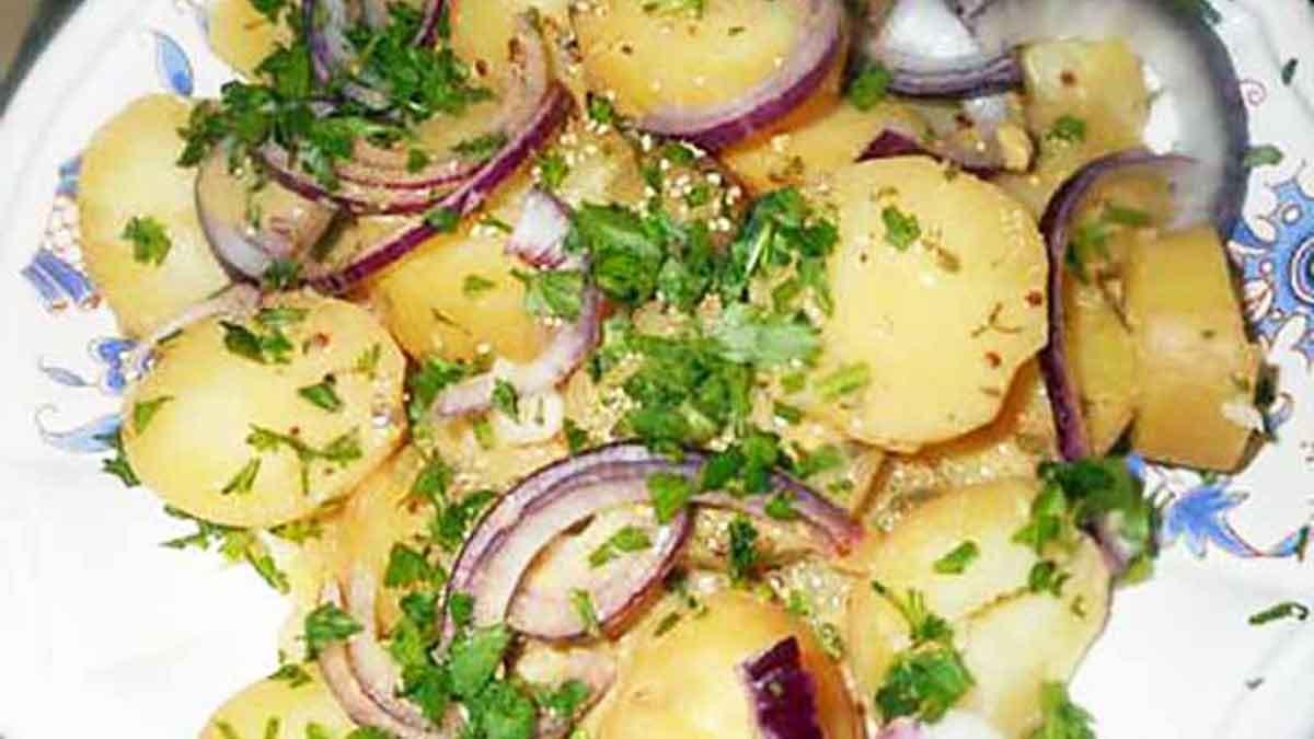 Succulente salade de pommes de terre