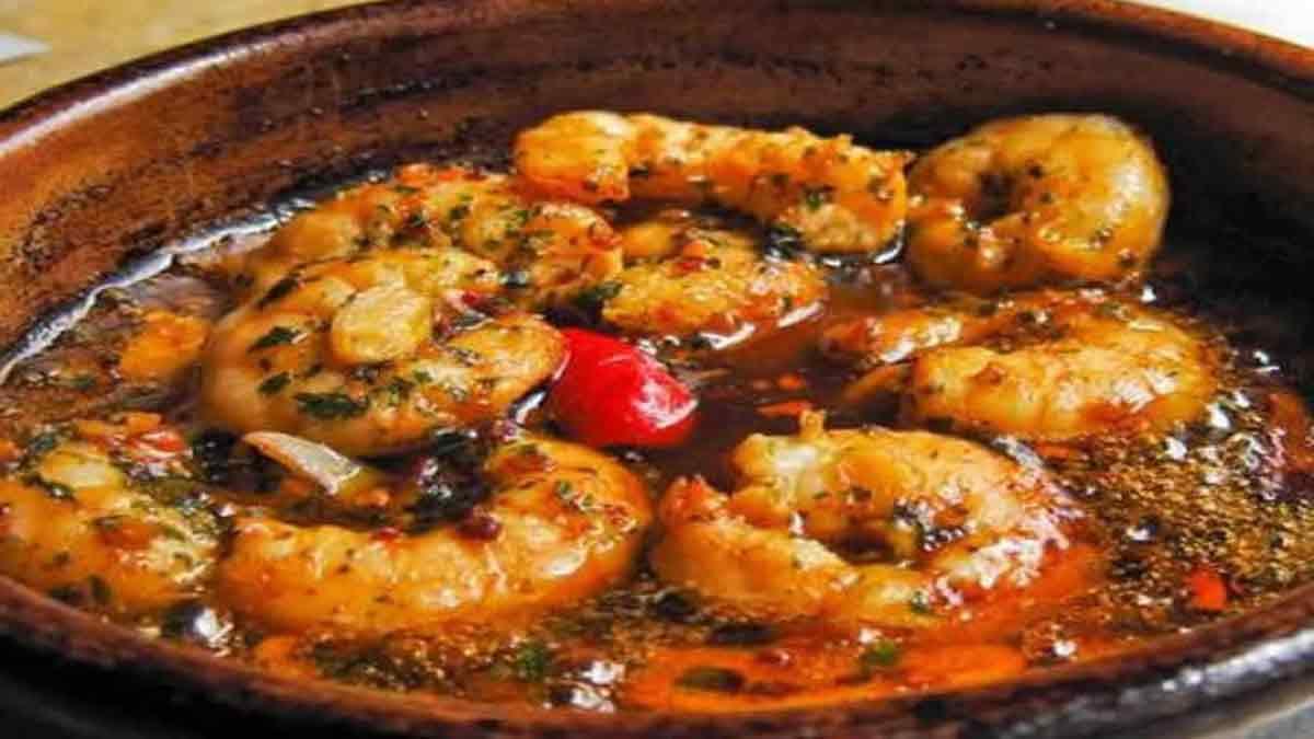 formidables crevettes sautées à l'ail et persil facile