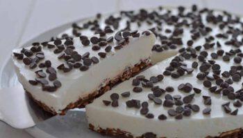 gâteau au yaourt grec et chocolat