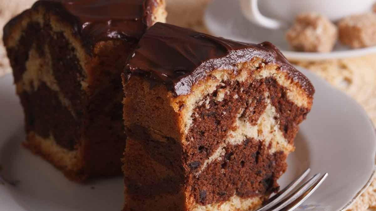 gâteau moelleux au yaourt et Nutella