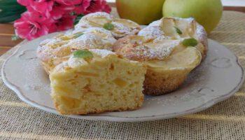 muffins aux pommes sans beurre