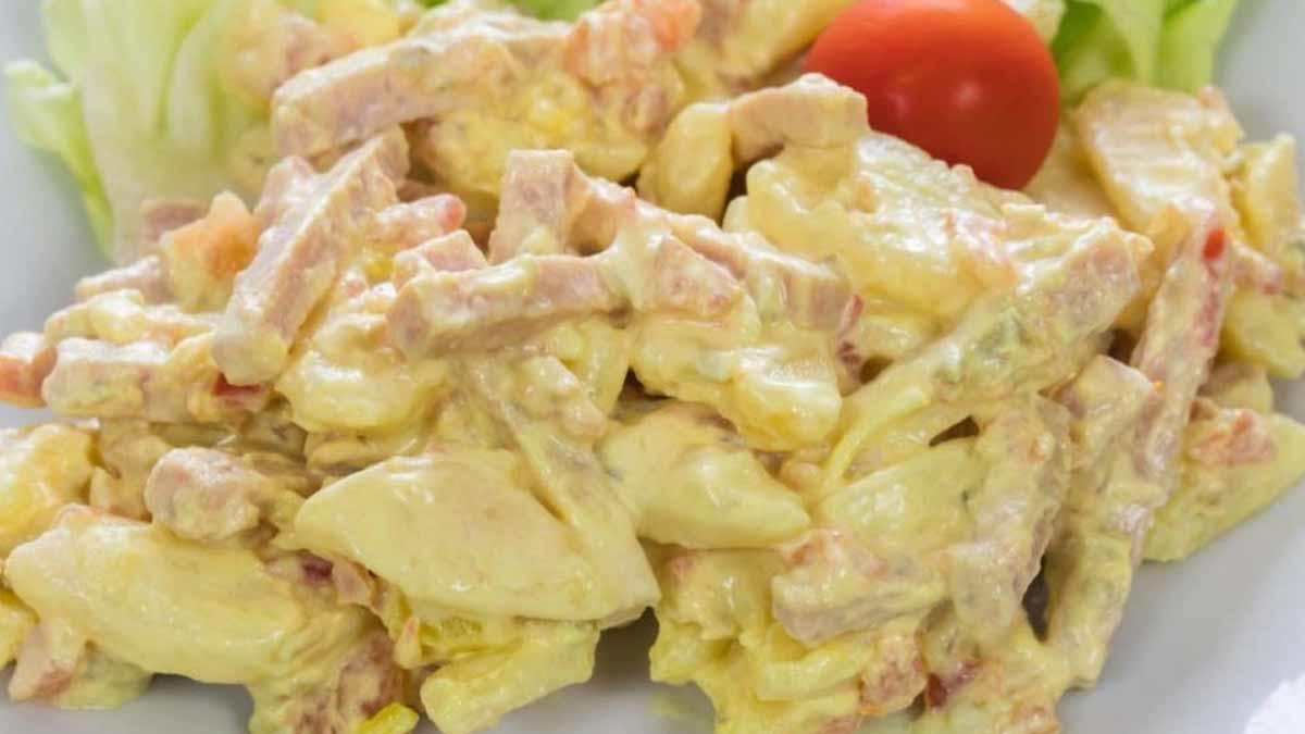onctueuse salade piémontaise fait maison