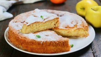 tarte aux pommes et au citron