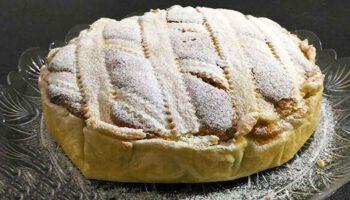 tarte aux pommes soufflée sans beurre