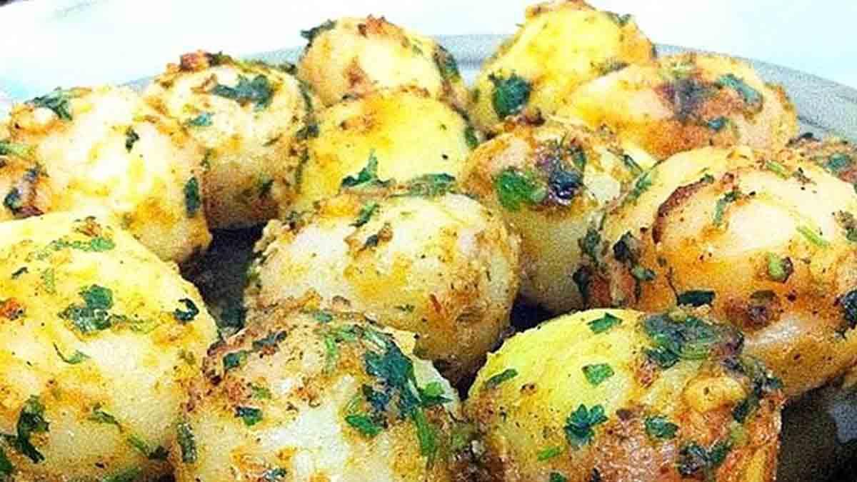 Croustillantes petites pommes de terre épicées