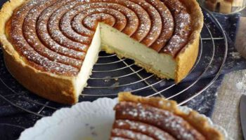 Délicieuse tarte alsacienne facile au fromage blanc