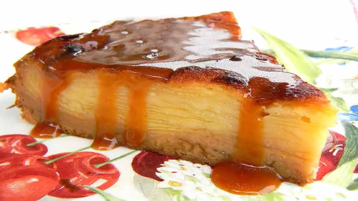 Délicieux gâteau invisible aux pommes