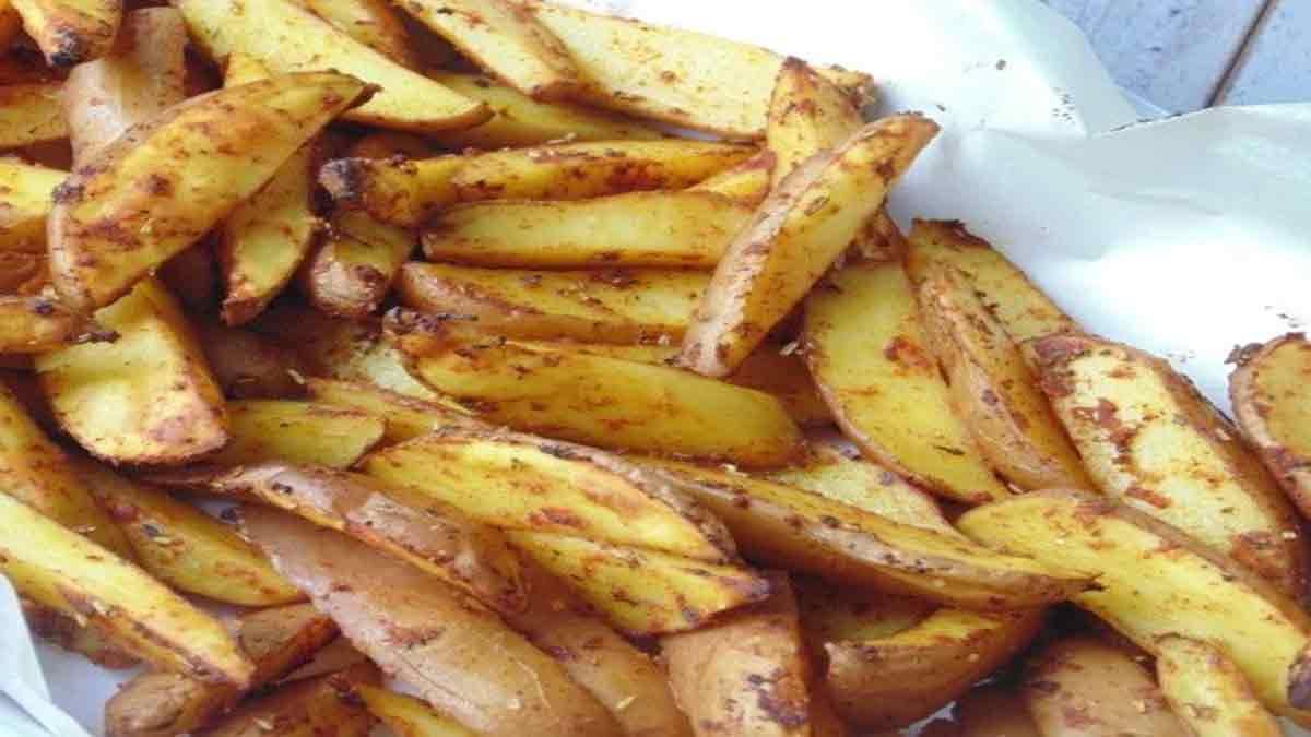 Fabuleuses frites au four
