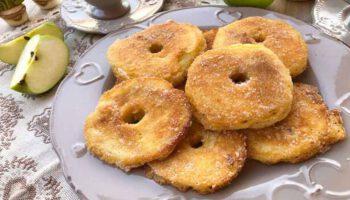 Fameux beignets aux pommes de Cyril Lignac