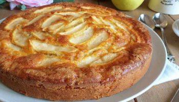 Gâteau aux pommes ultra moelleuse