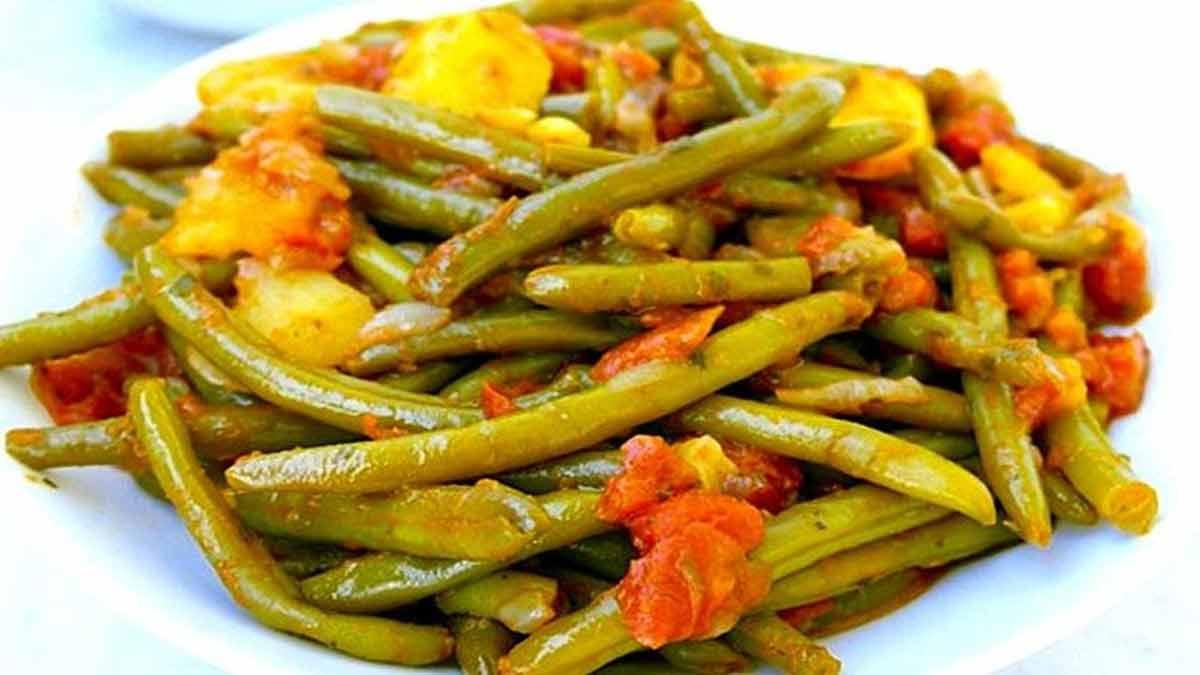 Haricots verts à l'italienne tellement délicieux