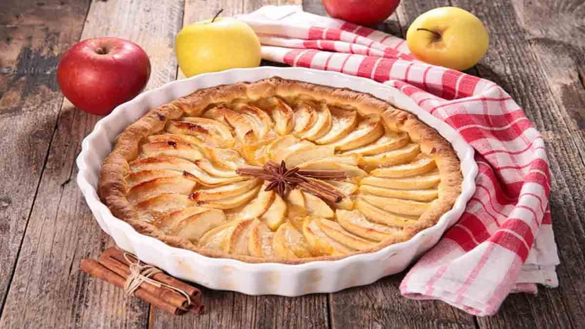 Merveilleuse tarte aux pommes