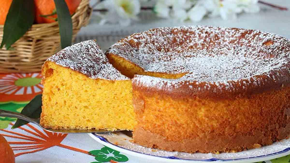 Parfait gâteau aux clémentines