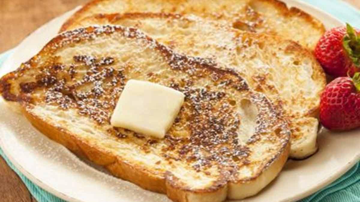 Recette facile de délicieux pain perdu fait maison