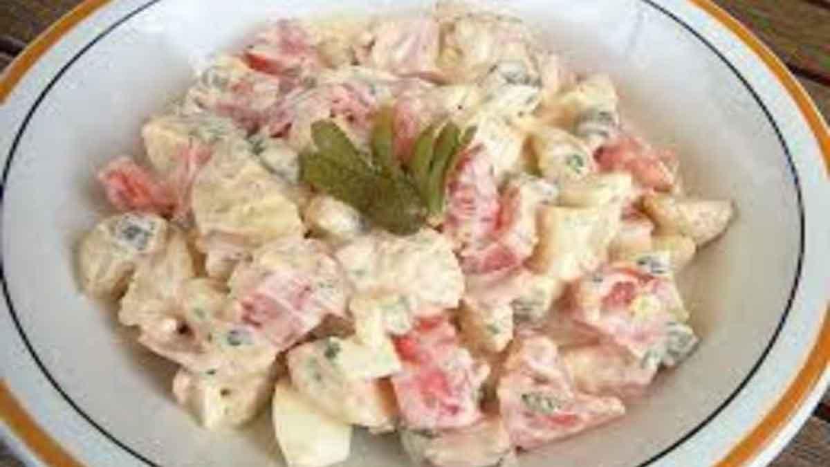 Savoureuse salade piémontaise