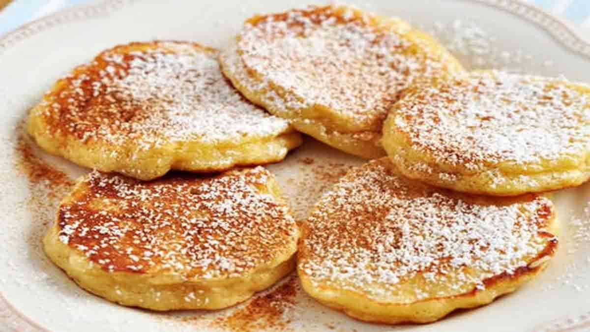 Savoureux pancakes au yaourt