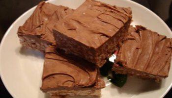 Simplissime gâteau sans cuisson au chocolat mars