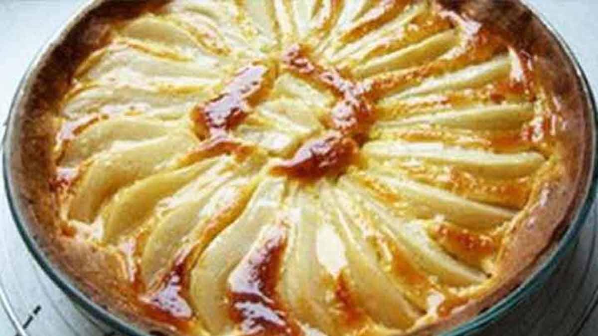 Sublime tarte à la poire de grand-mère