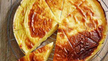 Succulent flan pâtissier sans maïzena