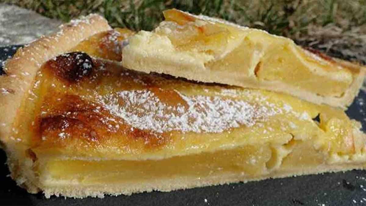 Succulente tarte aux pommes